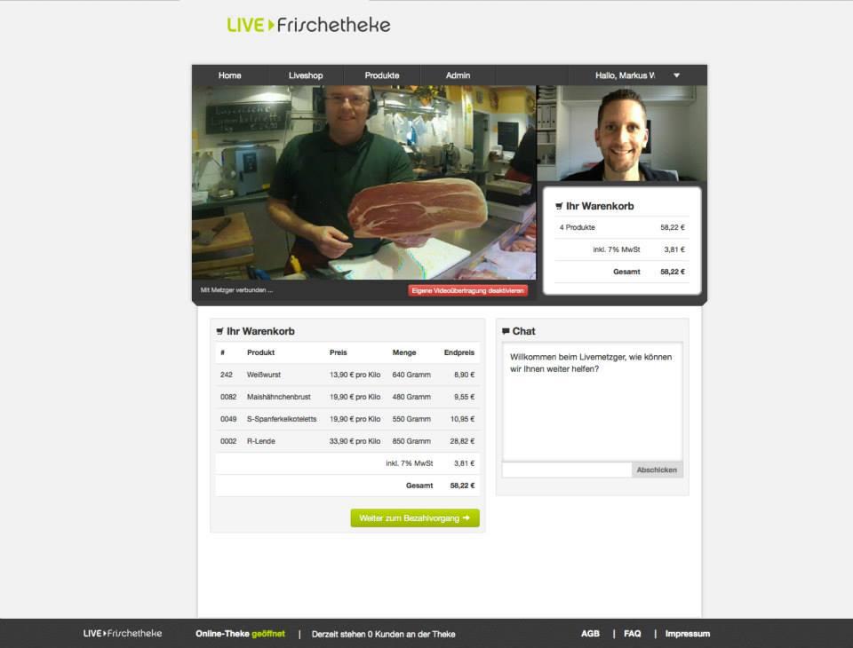 Kamera Live-Frischetheke München