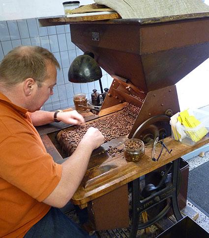 Handverlese-Maschine für Kaffee