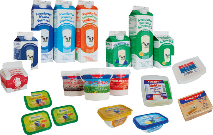 Milchprodukte Molkerei Hoya